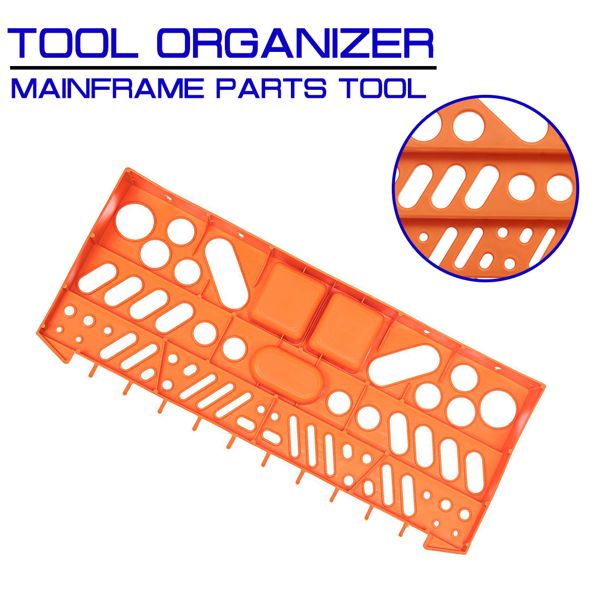 Mainframe Parts Tool Mobile Phone Repair Storage Box Organizer Wall Shelf Holder Pliers Rack Screwdriver Garage Hangers