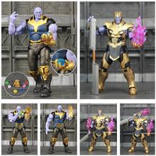 Marvel SHF Thanos Iron Man MK50 MK85 6 końcówki figurka Tesseract MCU kamienie Avengers nieskończoność wojny KO jest s h figuarts zabawki tanie tanio JAXTOY Model Żołnierz gotowy produkt Wyroby gotowe Unisex 6inch 1 12 Zachodnia animiation Remastered version 3 lat Zapas rzeczy
