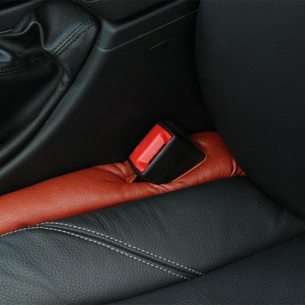 2PCS Car Seat Gap Limiter Leak-Proof Fender Filler Pad Anti-Drip Baffle Car Seat Leak-Proof Slit Strip