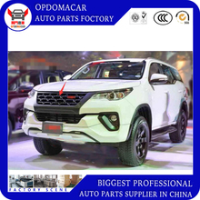 High quality Modificate  ABS car front grille racing grills grill for Fortuner  2016 2017 2018 grills все цены