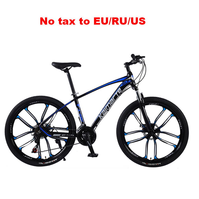 24 And 26 Inch Mountain Bike Aluminum Alloy Frame Variable Speed MTB 3/6/10 Knife Wheel Student Adult Sport Mountain Bicycle