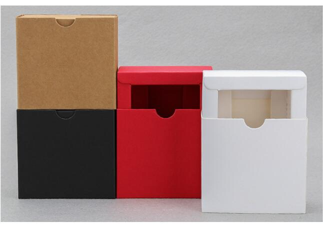10pcs Colorful Kraft Paper Drawer Boxes Wedding Party Favors Box Handmade Soap Box Craft Packaging Boxes in Gift Bags Wrapping Supplies from Home Garden