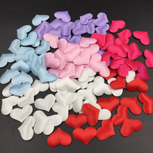 2cm 100pcs Wedding Decoration Sponge Heart Shaped Throwing Petals For Party Holiday Decor Cutting Rose Petal