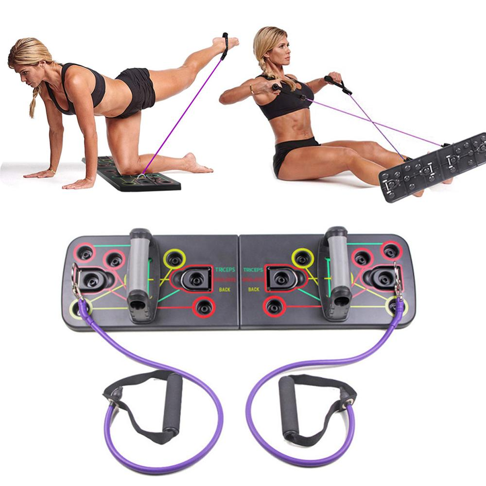 Push Up Rack Training Board ABS Abdominal Muscle Trainer Sports Home Fitness Equipment For Body Building Workout Exercise