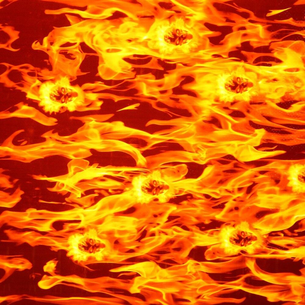 0.5 X 1m Water Transfer Print Film PVA Skull Print Film Dipping Skulls Hydrographics Water Transfer Printing Flaming Film