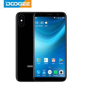 DOOGEE X55 Smartphone Android 7.0 5.5 Inch 18:9 HD MTK6580 Quad Core 16GB ROM Dual Camera 8.0MP 2800mAh Side Fingerprint phone