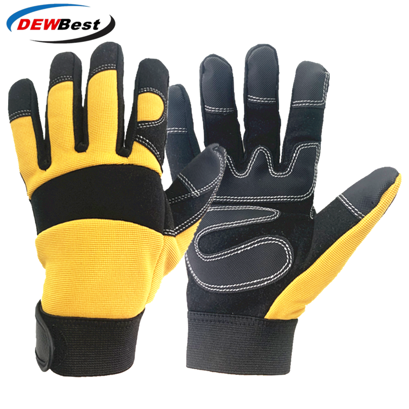 Защитные перчатки рабочие перчатки ручной работы защитные садовые антистатические перчатки для сварки рыболовные перчатки рабочие перчат...