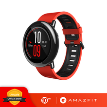 Huami Amazfit Ritmo Amazfit Smartwatch Intelligente Orologio Bluetooth GPS Informazioni Push Heart Rate Monitor Intelligente(China)
