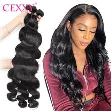 Onda do corpo feixes de onda do cabelo brasileiro 28 30 longo cexxy cabelo humano tecer 1/3/4 pacotes extensões de cabelo para as mulheres remy cabelo