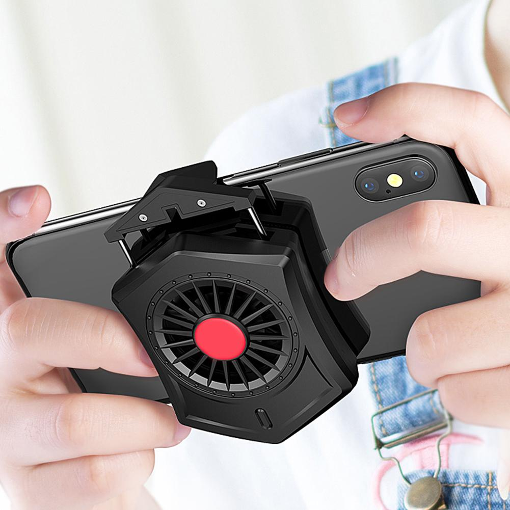 Mobile Phone Heat Sink Gaming Cooler Water-cooled Mobile Phone Radiator Game Controller Cooling Fan Playing Games Gamepad