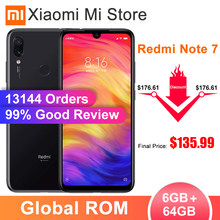 "In Voorraad Global Rom Xiaomi Redmi Note 7 6 Gb 64 Gb Smartphone Snapdragon 660 Octa Core 6.3 ""Scherm 48MP Achter Camera 4000 Mah(China)"