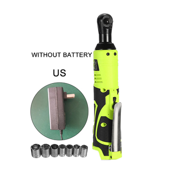 26V 3/8 Wireless Electric Ratchet Wrench Tool Set Rechargeable+ Charger US Plug