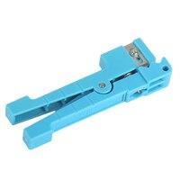 EINFACH-45-163 Fiber Optic Stripper Mittlere Spannweite Kabel Schneiden Werkzeug Lose Rohr Cutter Blau