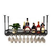 Decorative-Storage-Cabinet Glass-Rack Wine-Bottle Upside-Down Household-Bar Red Bar-Hanger