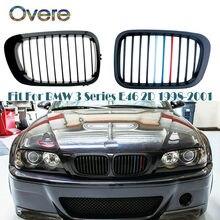 Overe – calandre de pare-choc avant pour BMW E46 coupé, série 3 1998 1999 2000 M3, 2 portes, accessoires Convertible en 2D