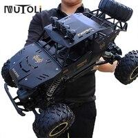 MuToLi-coche teledirigido todoterreno con luz LED, vehículo teledirigido todoterreno de escalada en roca, con Radio de 2,4G, 1:12, 4WD, nuevo