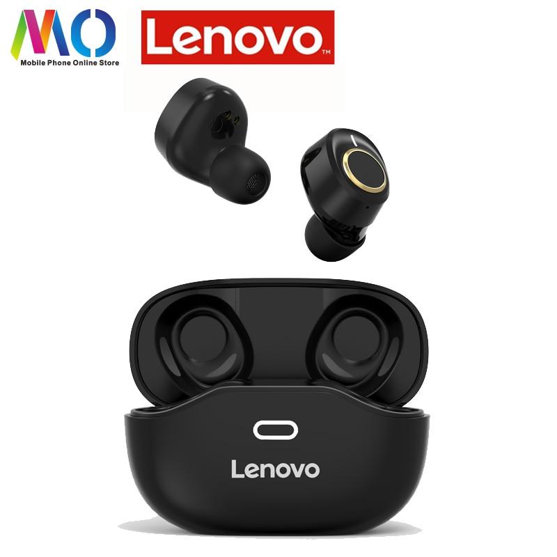 Новые беспроводные Bluetooth 5,0 наушники Lenovo X18, супер легкие водонепроницаемые беруши с поддержкой быстрой зарядки и сенсорной кнопкой, гарниту...