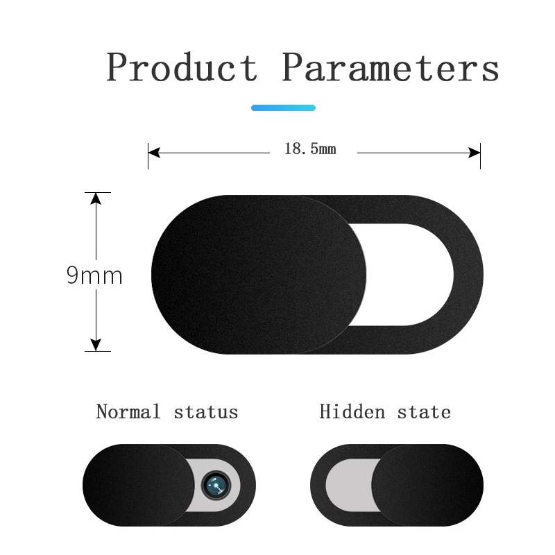 20PCS Webcam Cover Universal Phone Antispy Camera Cover For iPad Web Laptop PC Macbook Tablet lenses Privacy Sticker For Xiaomi