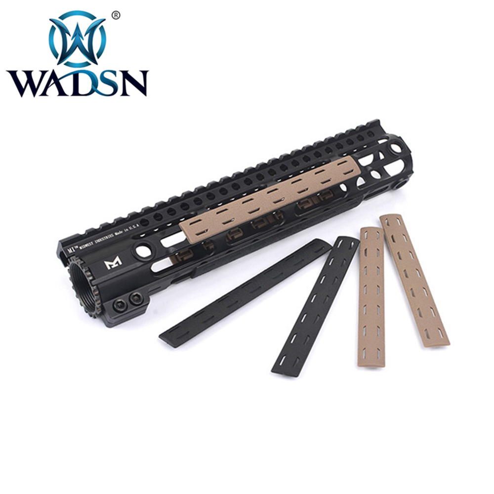 WADSN Airsoft BCM M-Lok Rail Panel Kit (5 Pcs) Softair For M-lok Handguard Picatinny Rail Cover MP02014 Paintball Accessories