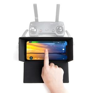 Image 3 - PGYTECH Smartphone צג שלט רחוק מכסה המנוע כיסוי שמש צל שמש הוד עבור DJI Mavic מיני/Pro/אוויר/פנטום 4/ניצוץ בקר