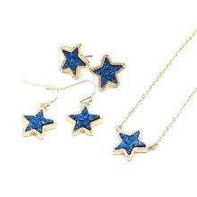 Лидер продаж 2020 ожерелье с кулоном в виде маленькой звезды