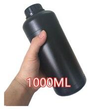 1000 مللي غرفة مظلمة الكيميائية جرعة تخزين الزجاجات البلاستيكية فيلم تطوير عملية 1L زجاجة تخزين HDPE