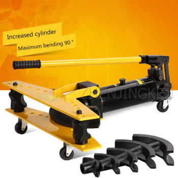 1 Inch Integral Manual Hydraulic Bender Galvanized Pipe Iron Tube  Steel Pipe Bending Tools High And Low Pressure Plunger Design