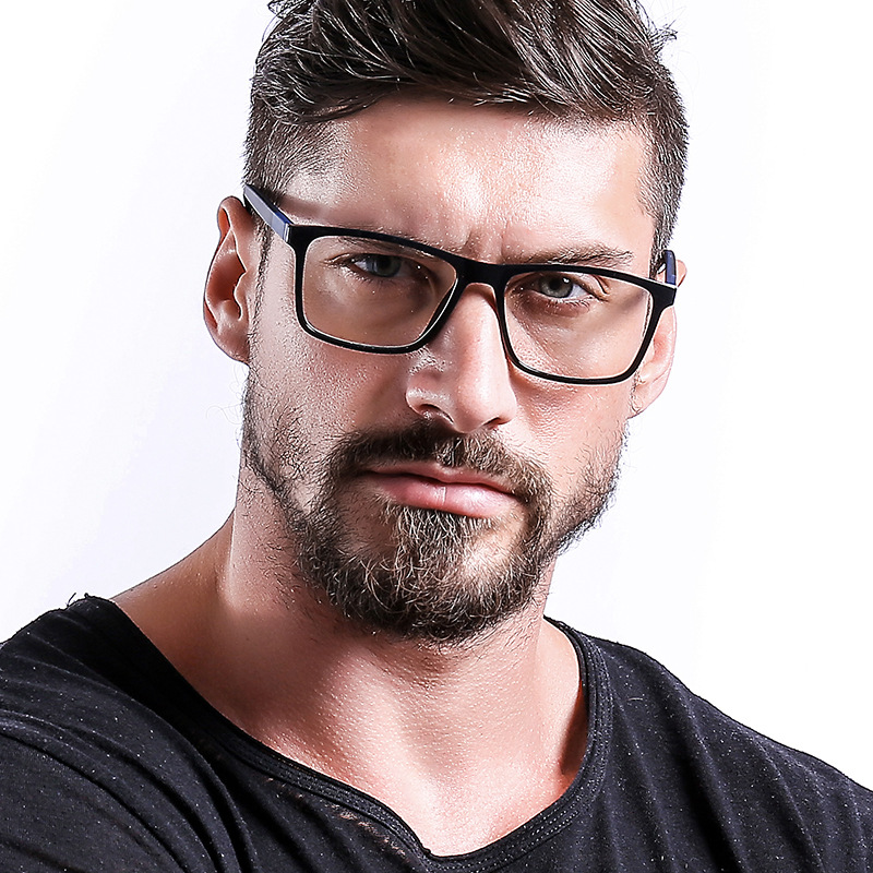 Retro Square Glasses Frames Men 2019 TR Optical Myopia Clear Eye Glass Frame Women Male Nerd Transparent Eyeglasses Frame