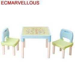 E Tavolo Silla Y Infantiles Tavolino Bambini Scherza il Bambino Scuola Materna Kinder Bureau Enfant Mesa Infantil di Studio per Bambini Da Tavolo