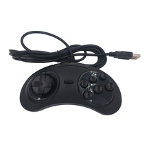 2PCS Wired 6 Buttons USB Classic Gamepad USB Game Controller Joypad for SEGA Genesis/MD PC/2 Y1301 /MAC Mega Drive цена 2017
