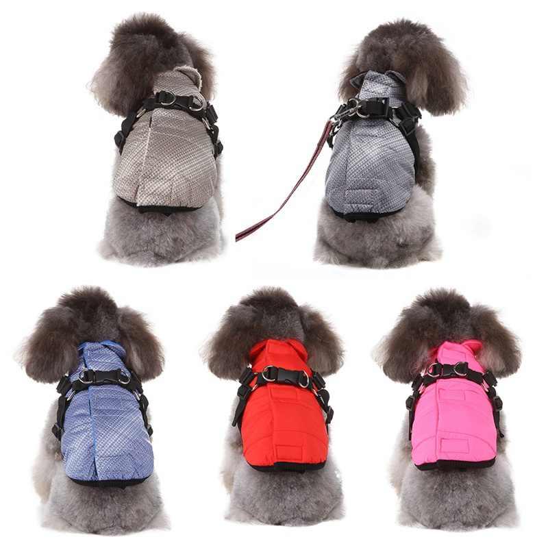 Cão de estimação roupas de inverno quente algodão filhote de cachorro pet casaco para pequenos cães médios chihuahua yorkie pug macacão roupas novas!