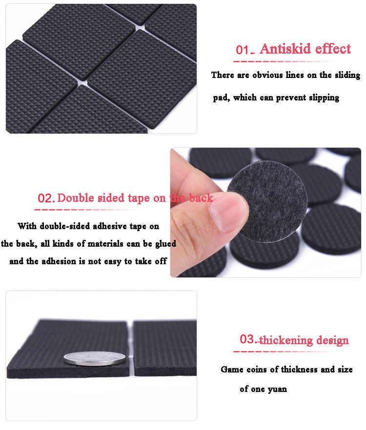 8//16//24pcs//lot Chair Leg Pads Floor Protectors for Furniture Legs Table leg