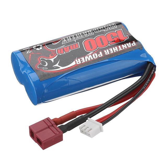 RCtown Remo 7.4V 1500mAh Lipo Battery for 1631 1651 1621 1635 1625 1/16 RC Car T Plug