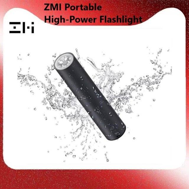 Xiaomi ZMI LPB02 מיני כוח בנק 5000mAh עם פנס LED 18w QC3.0 PFast טעינה מxiaomi אקולוגי מערכת עבור Iphone 8 X