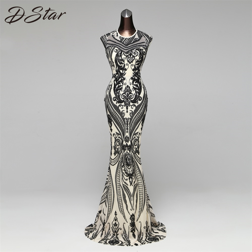 Novo estilo elegante vestido de lantejoulas vestido de festa sexy sem costas robe longue vestidos de festa 088 4 frete grátis