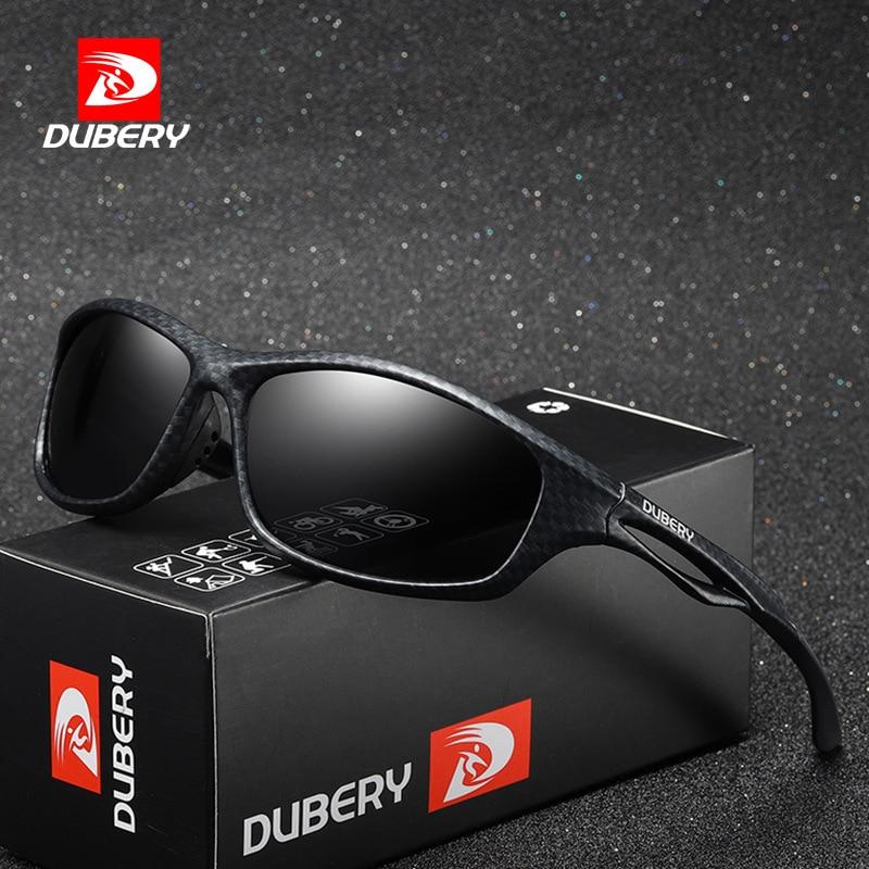 DUBERY Brand Design Polarized HD Sunglasses Men Dring Shades Male Sun Glasses For Men Summer Mirror Goggle Oculos UV400 166|Men