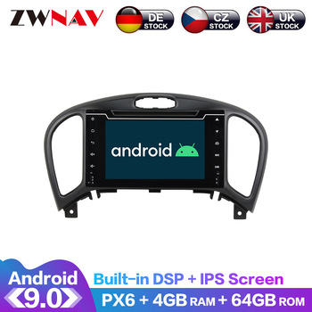 Android 9 IPS Screen PX6 DSP For Nissan Juke YF15 2014 2015 2016 Car DVD Player GPS Multimedia Player Radio Audio Stereo 2 DIN android 9 0 ips screen px6 dsp for kia soul 2014 2015 2016 2020 car no dvd gps multimedia player head unit radio audio stereo