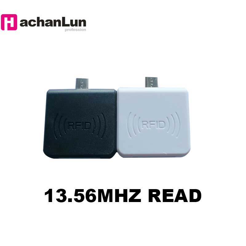 Mini RFID 13.56MHZ Smart Card NFC Chip Reader Support WIndows / Android Phone OTG Reader Free Shipping Home