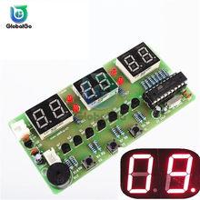C51 horloge électronique 6 Bits horloge électronique Suite de Production électronique pour Kit de bricolage de laboratoire d'éducation scolaire