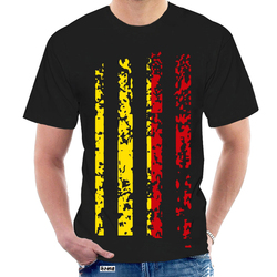 Bélgica vintage bandeira impressão 3d dos homens preto e branco manga curta t-shirts punk rock casual topo novo design camisas de natal 4940w