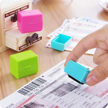1Pcs New Creative Data Protection Roller Stamp Identity Privacy Protection Confidentiality Information Coverage Data Protection