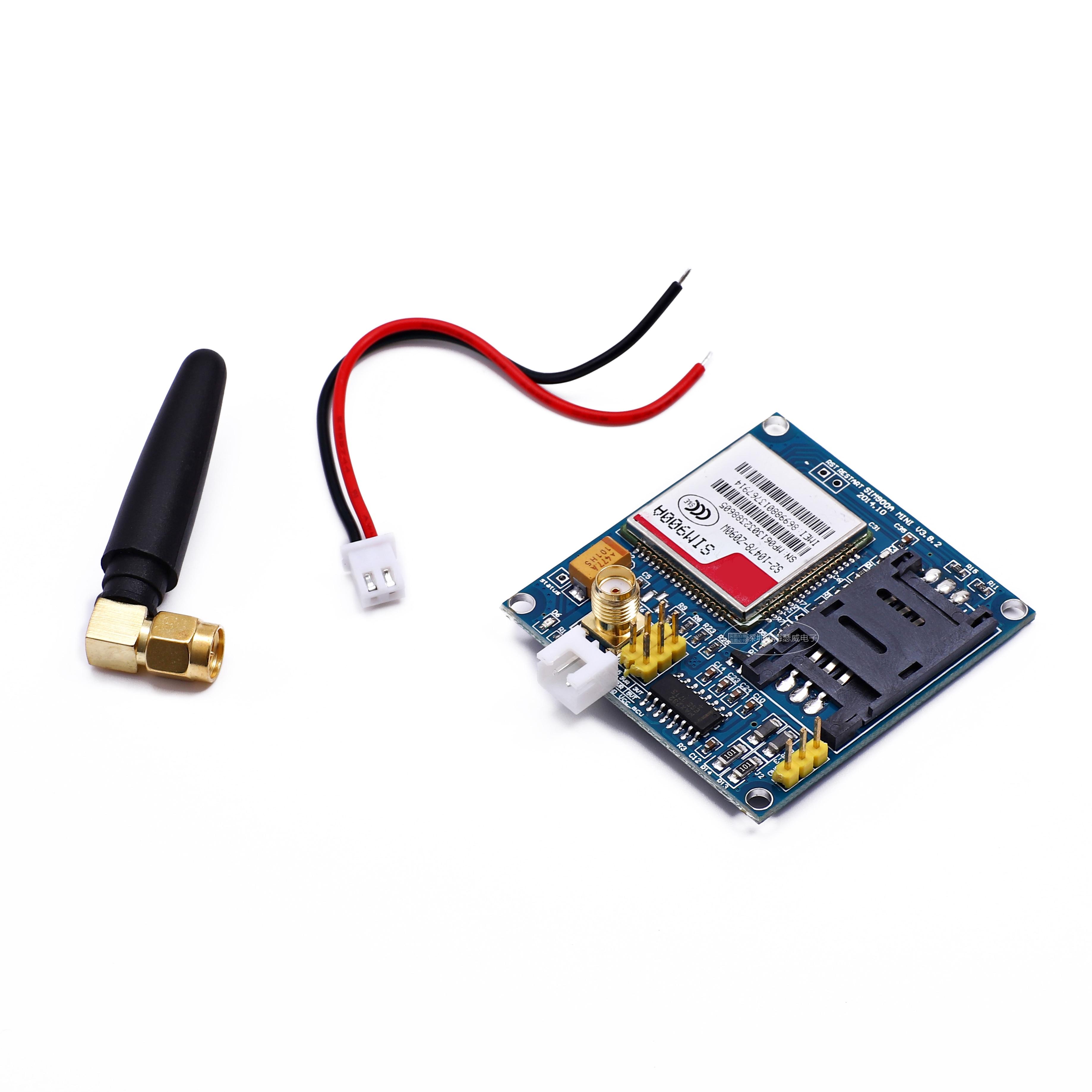 Sim900a v4.0 kit módulo de extensão sem fio gsm gprs placa antena testado em todo o mundo loja para arduino