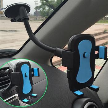 Nowy uchwyt samochodowy do telefonu uchwyt do montażu na kubek uniwersalny uchwyt samochodowy mobilna przyssawka szyba telefon blokujący akcesoria samochodowe tanie i dobre opinie CN (pochodzenie) Black plastic