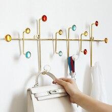Wall décor โลหะตะขอสแตนเลสแขวนผนัง hooks สำหรับกระเป๋าเสื้อผ้าหมวกผ้าเช็ดตัวห้องน้ำห้องนั่งเล่นห้องครัว Key Holder rack