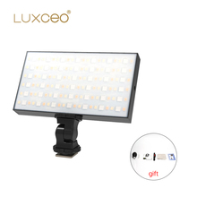 LUXCEO P03 Pocket RGB LED Video Light 2500K-6500K Camera Dual Color Video Studio Light with CRI 96+ Built-in Bat aputure ls c120t light dome kit studio bowens mount cri 97 cri 97 led video light professional led light for video shooting