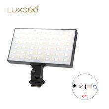 Карманный светодиодный светильник luxceo p03 rgb для видеосъемки