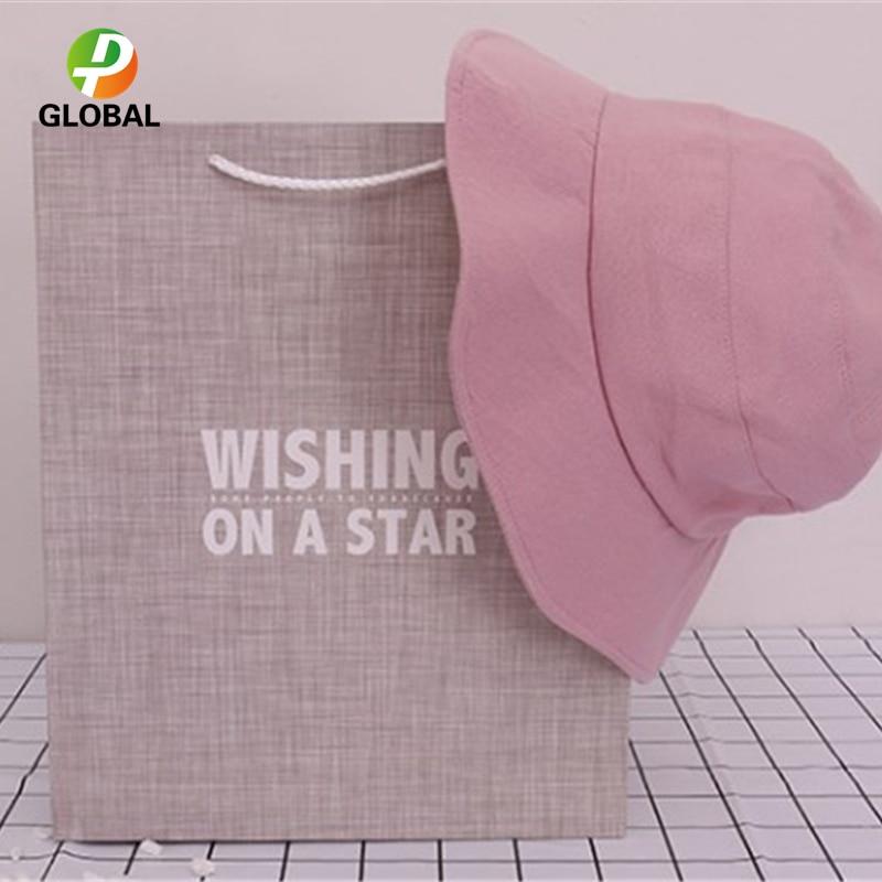 D&P 50pcs Wedding Gift Bag Paper Bag Hand Gift Bag Birthday Party Paper Bag Tote Can Be Customiz 18*23*10cm /26*32*12 cm - 4