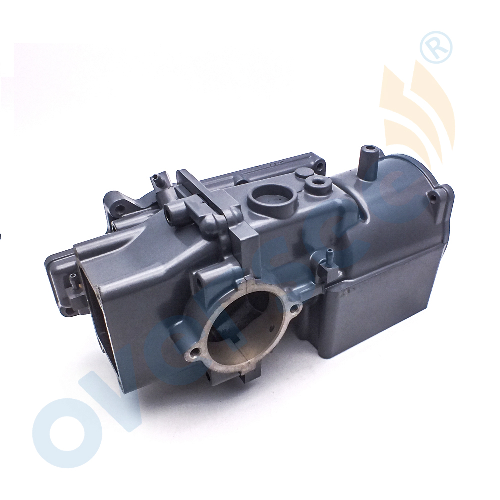 For Yamaha Outboard 6E3 15100 02 1S CRANKCASE ASSY 5HP Engine Motor Part - 3