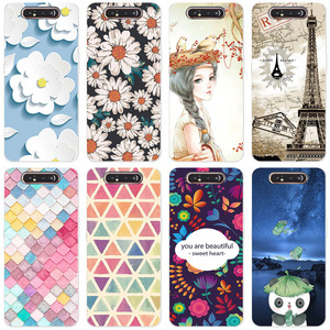 Rose Flower Phone Case For Samsung Galaxy A90 A 90 A905 SM-A905F A905F Luxury Soft Silicon Fundas Camera Protection Back Coque