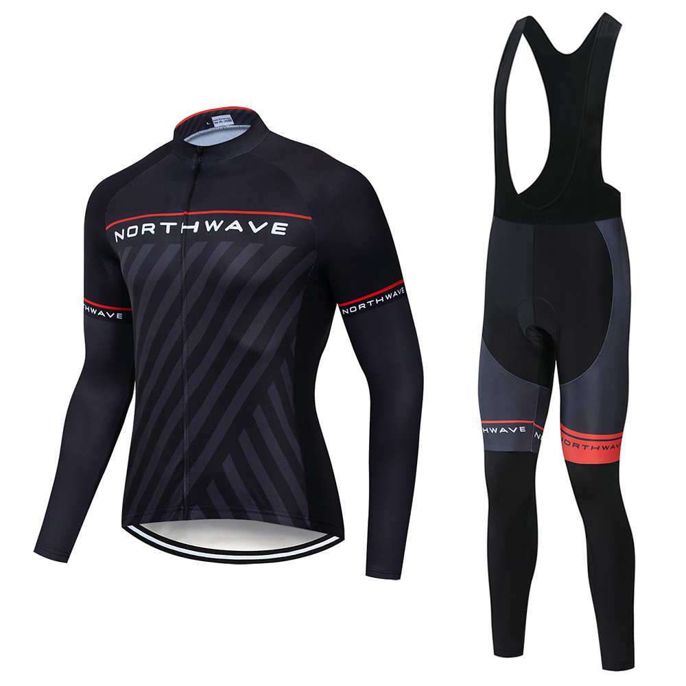 2019 nw primavera respirável conjunto camisa de ciclismo mtb bicicleta roupas maillot ropa ciclismo manga longa roupas ciclismo conjunto